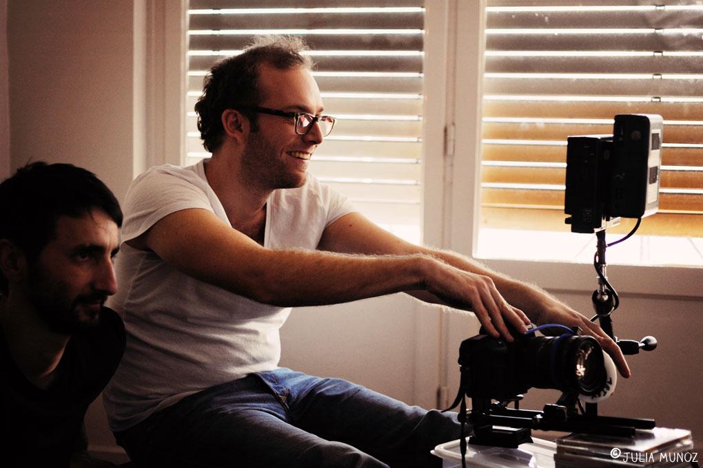 julia munoz photographe tournage